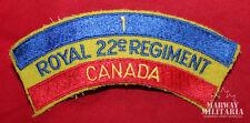 Royal 22nd Regiment Cloth Shoulder Flash  (13507)