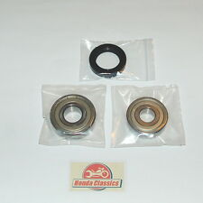 Honda CB350F CB400F 400/4 SOHC Four Rear Wheel Bearings Oil Seal Set Kit. KIT003