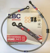 Yamaha YZFR125 (2008 to 2013) EBC High Performance FRONT Braided Brake Line Hose
