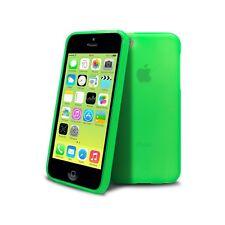Coque Housse Etui Semi Rigide Pour iPhone 5C Extra Fine Verte