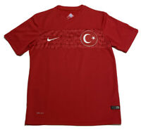 Nike Turkey National 2014 World Cup Soccer Jersey Dri-Fit Size Small Red