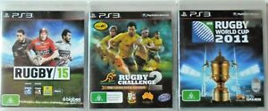 Rugby15, Wallabies Rugby Challenge 2 and Rugby World Cup 2011 PS3