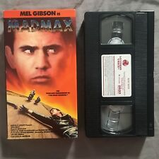 MAD MAX VHS 1979 1988 Vestron Video Mel Gibson Brian May