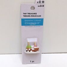 Candy Apples, Tiny Treasures Village Miniature Dollhouse Trains New Unopened Pkg