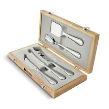 Robert Welch Cheese Knife Set Radford Gourmet 5 Piece - Gift Boxed