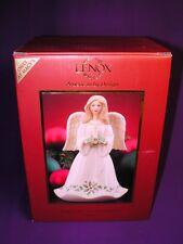 "LENOX PORCELAIN HOLY NIGHT HOLIDAY ANGEL 6.75"" SKU# 817915 NEW IN ORIGINAL BO X"