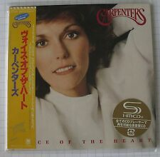 CARPENTERS - Voice of the Heart JAPAN SHM MINI LP CD NEU! UICY-94231