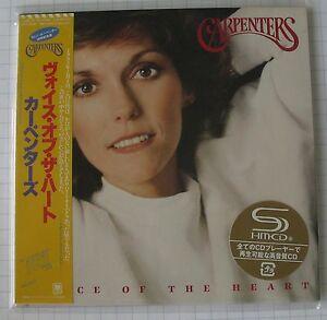 CARPENTERS - Voice of the Heart JAPAN SHM MINI LP CD NEU! UICY-94231