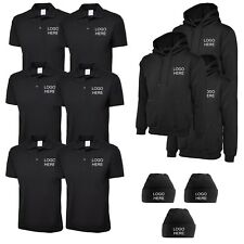 Embroidered Work Wear Package 5 Uniform Customised Embroidery Personalised
