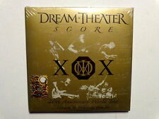 DREAM THEATER  -  SCORE  -  20th ANNIVERSARY WORLD TOUR  - 3  CD NUOVO SIGILLATO