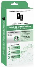 AA MICRODERMABRASION 3 STEPS HOME PROFFESIONAL TREATMENT PEELING MASK AND CREAM