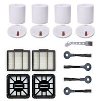 Replacement Filters Side Brushes Kit For Shark IQ R101AE Robot Vacuum Cleaner