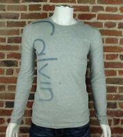 T shirt Calvin Klein homme manche longue CMP27U Gris