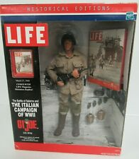 "GI Joe Historical Edition WWII Italian Campaign 12"" Figure 1/6 Sealed MIB BZ237"