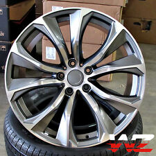 "22"" Rims 451 Style fits BMW X5 X6 X5M X6M xDrive Gunmetal Machined Wheels 5X120"