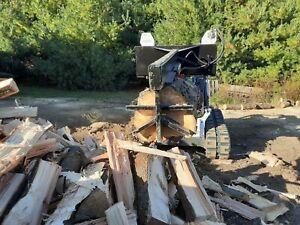 "Ramsplitter 6 way Wedge Skid Steer Log Splitter 24"" LOG AND 30 TONS OF POWER"