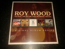 ROY WOOD - ORIGINAL ALBUM SERIES 5 CD SET NEW SEALED 2014 WARNER