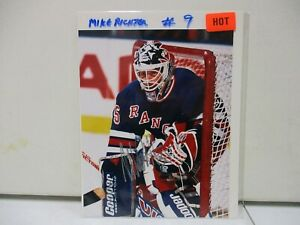 Mike Richter New York Rangers Signed 8x10 Photo