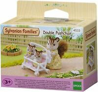 SYLVANIAN FAMILIES DOUBLE PUSHCHAIR KIDS TOY