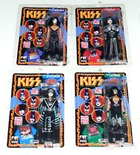 "KISS Band SONIC BOOM 12"" Figure Set SEALED Gene Simmons Paul Eric + Tommy SIGNED"