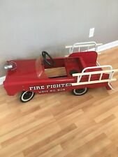 Amf Fire Truck Pedal Car