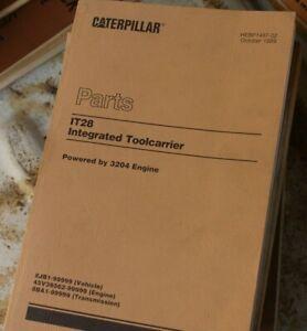 CAT Caterpillar IT28 IT Machine Parts Manual Book wheel loader spare 8JB series