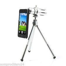 Zoom Ottico Lens Teleobiettivo Fotografico 12X per iPhone 5C