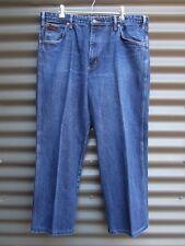 RM Williams Stockyard Men's Blue Denim Jeans Measured Waist 38 Measured Leg 28
