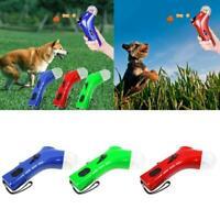 Handheld Treat Launcher Pet Dog Interactive Fun Snacks Food Feeder Training Toy