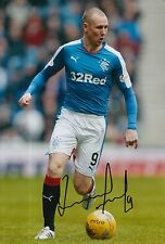 RANGERS HAND SIGNED KENNY MILLER 12X8 PHOTO PROOF 10.