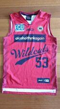 Perth Wildcats Basketball NBL NBA jersey small ISC jersey Jesse Martin #53