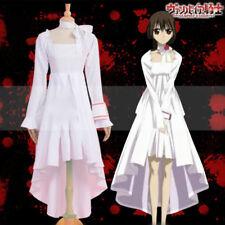 NEW ! Vampire Knight Kurosu Yuki White Dress Cosplay Costume