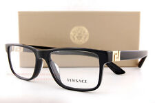 22e2d54209b Brand New VERSACE Eyeglasses Frames 3211 GB1 BLACK for Men 100% Authentic  SZ 55