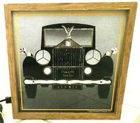 ANTIQUE CAR MOTION LAMP FANTASIA PRODUCTS 1980 POVERTY SUCKS GLITTER LIGHT RARE!