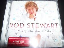 Rod Stewart Merry Christmas Baby Australian CD with Bonus Track Karise Eden