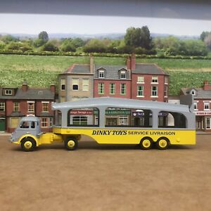 Dinky French Car Transporter(repaint)