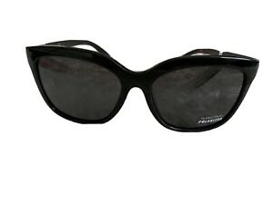 SUNCLOUD Pageant POLARIZED Womens Sunglasses Black//Gray NEW Smith