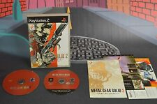 METAL GEAR SOLID 2 SONS OF LIBERTY PAL FR PLAYSTATION 2 PS2 SHIPPING 24/48H