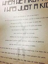 "Kobe Bryant ""Dear Basketball"" Letter Retirement Reprint! Lakers Farewell Jazz"