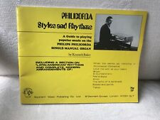 PHILICORDA - Styles And Rhythms - Kenneth Baker - Organ Music Playing Guide