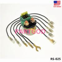 Starter Solenoid Relay for Honda 35851-MF-750 35850-MK3-671 35850-MB0-007 New