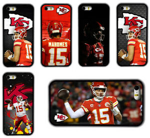 Patrick Mahoms Kansas City Chiefs Rubber Phone Case For iPhone /Samsung/ Huawei
