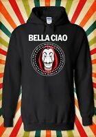 Bella Ciao La Casa De Papel Funny Men Women Unisex Top Hoodie Sweatshirt 2134