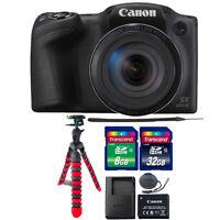 Canon PowerShot SX420 IS 20MP Digital Camera Black with 40GB Accessory Bundle