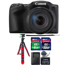 Canon PowerShot SX420 IS 20MP Digital Camera Black with 40GB Accessory Bundle