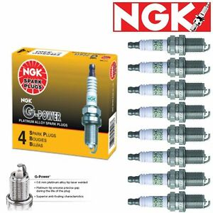 8 Pack NGK G-Power Spark Plugs 1991-1995 Chevrolet C3500HD 5.7L V8 Kit Set