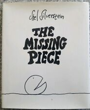 The Missing Piece, Shel Silverstein DJ, Stated  1976 Hard Cover  good  condition