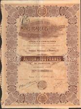 MINES & FONDERIES de l'ARIEGE & HAUTE-GARONNE (U)