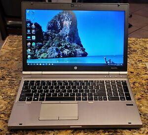 """HP EliteBook 8570p 15.6"""" i7 3.0 GHz 6GB RAM 500GB HDD Win 10 Pro 1600x900"""
