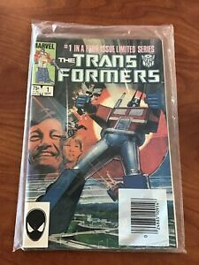 Transformers #1 2 3 in sealed multipack bag top cut off Marvel Comics 1984